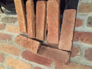 Lovely Canyon Brick Tiles  for fireplace surround or walls