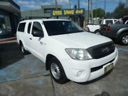 2011 Toyota Hilux GGN15R MY11 Upgrade SR White 5 Speed Automatic X Cab Pickup Homebush West Strathfield Area Preview