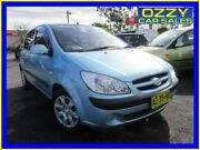 2008 Hyundai Getz TB Upgrade SX Blue 5 Speed Manual Hatchback Minto Campbelltown Area Preview