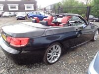 2007 BMW 320 CONVERTIBLE (electric Fold away Hardtop Model) £5995