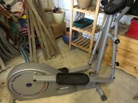Cross trainer - perfect condition and has electronic control system for perfect workout