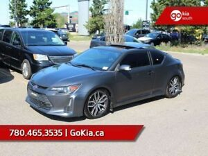 2014 Scion tC COUPE; LEATHER, 6 SPEED MANUAL, PANORAMIC SUNROOF,