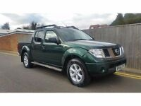 Nissan Navara 2.5 dCi Outlaw PICK UP 4dr 2006 GREEN 187K NO VAT