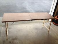 Boot sale/wallpaper pasting folding table. Little used. Bargain.