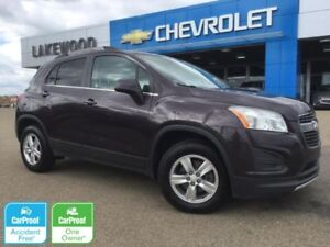 2014 Chevrolet Trax LT AWD (1.4L Turbo,Roof Rails,Cargo Cover)