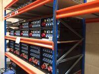 Dexion Speedlock Racking suitable for warehouse or heavy duty storage