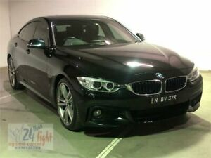2014 BMW 428i F36 Luxury Line Black Sports Automatic Hatchback Campbelltown Campbelltown Area Preview