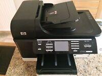 HP Officejet Pro 8500 Wireless Printer + 3 unused cartriges