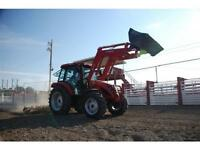 2015 TYM 1003 Tractor w Cab & Loader and Perkins Engine (NO GST)