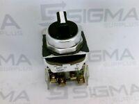 Allen-Bradley 800T-J2 Black Three Position Selector Switch Series T
