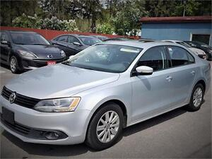 2013 Volkswagen Jetta  Sunroof   Car Loans Available  Any Credit