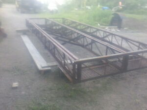 STEEL BRIDGE/REDUCED PRICE 18 ft 9 inches by 80 inches wide