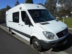 2009 Mercedes-Benz Sprinter 518 White Sports Automatic Van Preston Darebin Area Preview