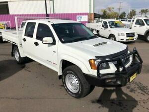 2010 Holden Colorado RC MY10 LX (4x4) White 5 Speed Manual Crew Cab Pickup Dubbo Dubbo Area Preview