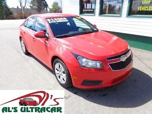 2014 Chevrolet Cruze 1LT only $119 bi-weekly all in!
