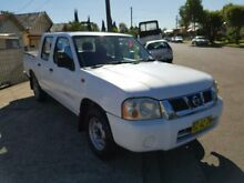 2003 Nissan Navara D22 MY2002 ST White 4 Speed Automatic 4D Utility Yagoona Bankstown Area Preview