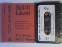 TIM RICHARDS & SPIRIT LEVEL - THE SWISS RADIO TAPES PRERECORDED CASSETTE TAPES. 1988. Extremely rare
