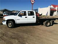 2006 gmc 3500 4x4 Deck Dually 118kms Certified