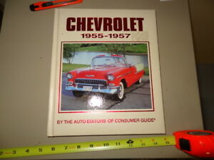 1955-57 CHEVROLET BOOK BY CONSUMERS GUIDE