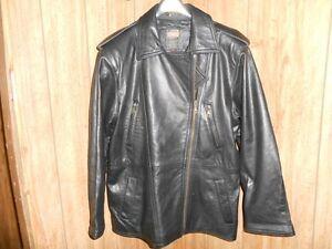 Laurence Roy Men's leather jacket