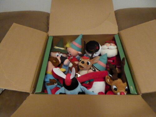 "11 Plush 12"" CVS Rudolph / Island of Misfit Toys With Original Display Box"
