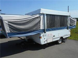 WOW!!! Fleetwood Sante Fe 10' Tent Trailer only 2,086 lbs.