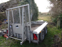Ifor Williams Plant Trailer - Mini Digger Trailer