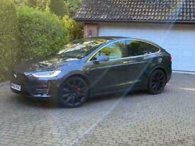 image for 2016 Tesla Model X P100D, Ludicrous +, 6 Seat White Interior Auto Hatchback Elec