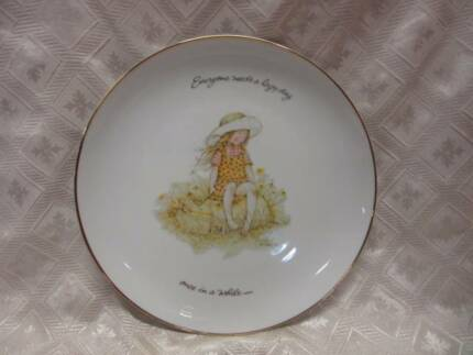 large Holly Hobbie plate Blakeview Playford Area Preview