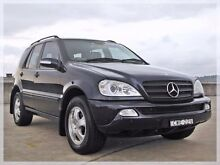2002 Mercedes-Benz ML320 W163 Luxury Navy Blue Sports Automatic Wagon North Curl Curl Manly Area Preview