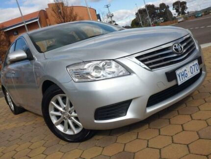 2010 Toyota Aurion GSV40R 09 Upgrade AT-X Silver 6 Speed Sequential Auto Sedan Greenway Tuggeranong Preview
