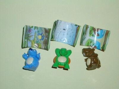 Ü-Ei Figuren Spielzeug Figur 3 Figuren Kinder Nature von Spaß in der Natur  (Spielzeug In Ei -)