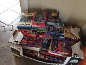 à donner : lot de 50 films VHS de disney, luckie Luke, Spirou