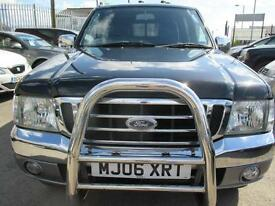 FORD RANGER XLT THUNDER (black and grey) 2006