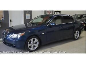 2007 BMW 530 XI AWD***154000 KMS- GPS-CUIR-TOIT-MAGS***9995$