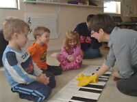 MYC Music Programs for 2 - 4 yrs