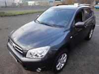 LHD 2008 Toyota Rav 4 2.0VVTI Manual UK REGISTERED