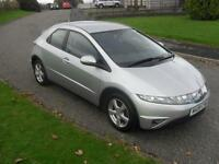 Honda Civic 1.8i-VTEC SE 2008 ONLY 56600Mls FSH 1 Previous Owner Clean Good Spec