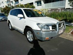 2008 Toyota RAV4 GSA33R MY08 SX6 White 5 Speed Automatic Wagon Redcliffe Redcliffe Area Preview