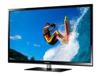 "51"" Samsung 3D razor slim FULL HD TV"