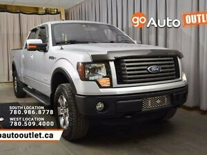 2012 Ford F-150 FX4 4x4 SuperCrew Cab 6.5 ft. box 157 in. WB