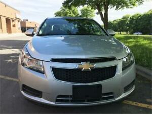 2012 CHEVROLET CRUZE LT TURBO,ONLY 66000km,ACCIDENT FREE