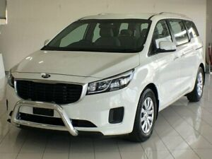 2017 Kia Carnival YP MY17 S White 6 Speed Sports Automatic Wagon Ashmore Gold Coast City Preview