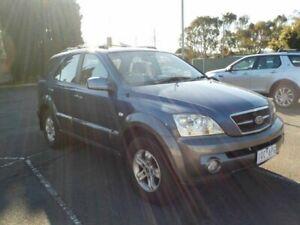 2004 Kia Sorento BL Blue 4 Speed Automatic Wagon Newtown Geelong City Preview
