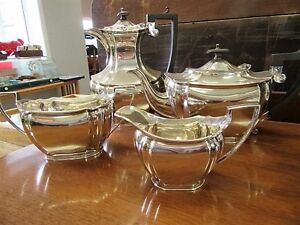Antique CWF Sheffield Silver England - Silver Plate Tea Service London Ontario image 1