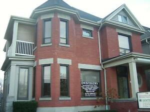 2-storey, 4 bedroom apartment. Lovely unit w/ lots of character!