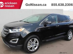 2016 Ford Edge Titanium: AWD, NAVIGATION, LEATHER, HEATED SEATS,