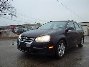 VW JETTA WAGON! HIGHLINE!LETHER! PANO ROOF! CERTIFIED!