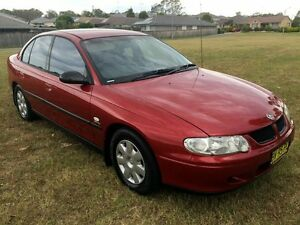 2001 Holden Commodore VX Executive Red 4 Speed Automatic Sedan Lake Illawarra Shellharbour Area Preview