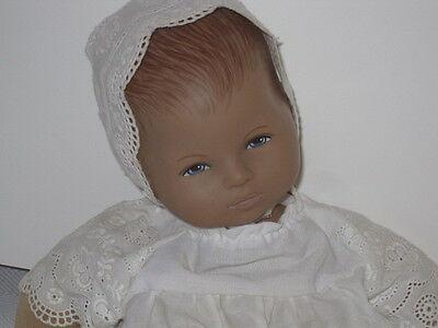 """Heidi Ott Baby in White Eyelet...original from the artist...14"""""""
